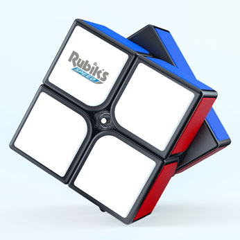 Rubik's Speed Cube 2x2 Rotated
